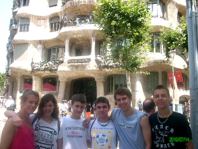 Volleyball Youth Summer Camp With Spanish Immersion In Barcelona
