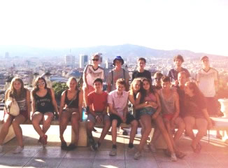 Youth Volleyball Summer Camp With Spanish Immersion In Barcelona